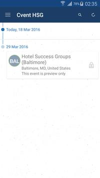 Cvent Hotel Success Groups poster