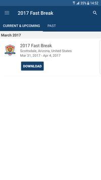 2017 Fast Break poster