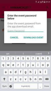 AHMA 2017 Conference App apk screenshot