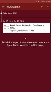 RILA Conferences screenshot 1