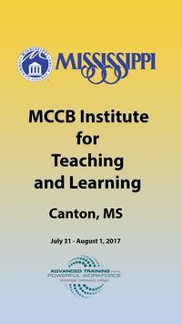 MCCB Events App poster