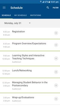 MCCB Events App apk screenshot