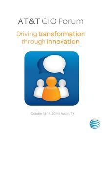 2014 AT&T CIO Forum poster