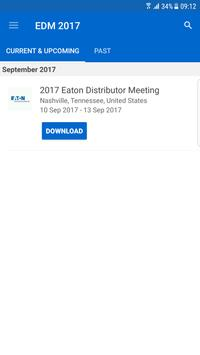 2017 Eaton Distributor Meeting poster