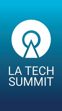LA Tech Summit poster