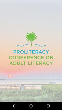 ProLiteracy Conference poster