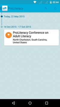 ProLiteracy Conference apk screenshot
