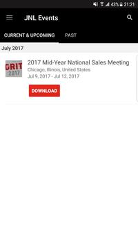 Jackson Events & Meetings poster