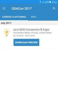 GDA Annual Convention & Expo poster