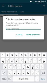 Miller Heiman Group Events screenshot 1