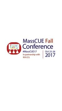 MassCUE Fall Conference poster