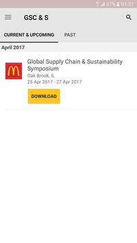 McDonald's Global Supply Chain poster