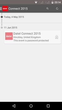 Datel Connect 2015 poster