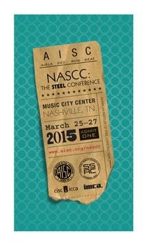 2015 NASCC Steel Conference poster