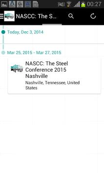 2015 NASCC Steel Conference apk screenshot