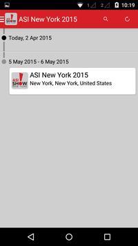 """""""ASI New York 2015"""" apk screenshot"""