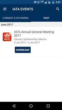 IATA EVENTS screenshot 2