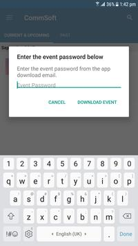 Commsoft Users Conference apk screenshot