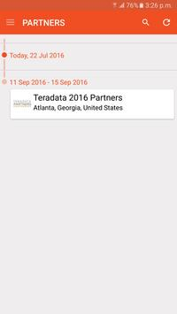 Teradata PARTNERS apk screenshot