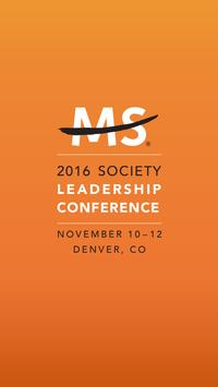 MS Society Leadership Conf. poster