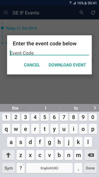 GE Industrial Finance Events apk screenshot