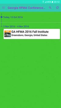 GA HFMA 2017 Summer Institute apk screenshot