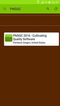 PNSQC Software Conference apk screenshot