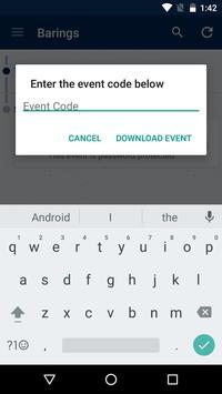 Barings Events apk screenshot