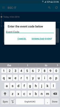 BSC IT Events apk screenshot