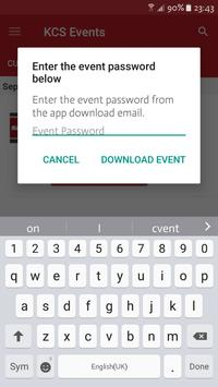 Kansas City Southern Events apk screenshot