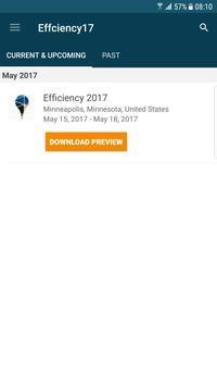 Efficiency 2017 poster