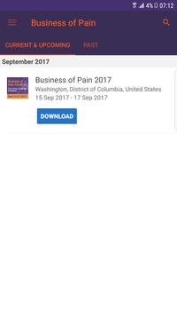 NSPC Business of Pain poster