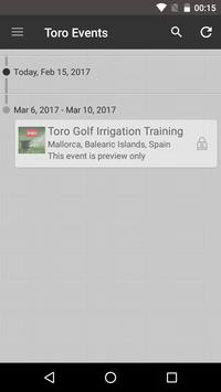 The Toro Company - Events poster