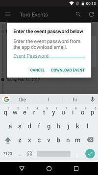 The Toro Company - Events apk screenshot