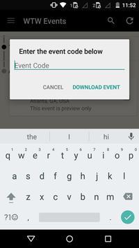 Willis Towers Watson Events apk screenshot