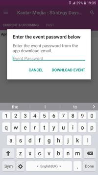 Kantar Media Events apk screenshot