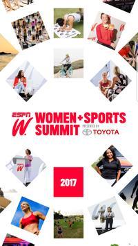 espnW: Women + Sports Summit poster