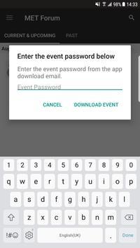 MET Forum 2017 apk screenshot