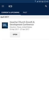 IC3 - Issachar Conference apk screenshot