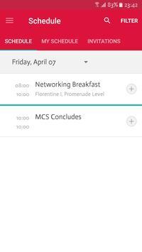 CCA Event App apk screenshot