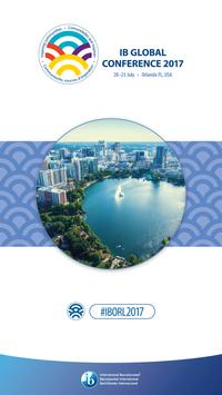 IB Global Conferences poster