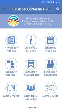 IB Global Conferences apk screenshot