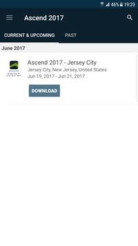Ascend 2017 poster