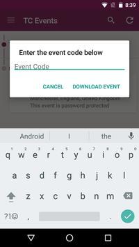 TC Events APP apk screenshot