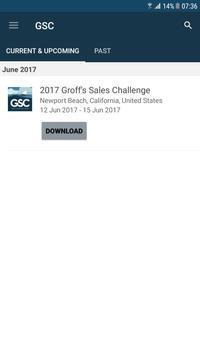 2017 Groff's Sales Challenge poster