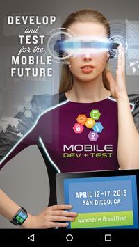 Mobile Dev + Test 2015 poster