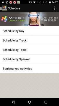 Mobile Dev + Test 2015 apk screenshot