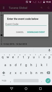 Tucana Global Events apk screenshot