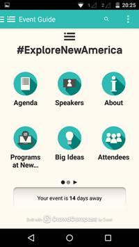 New America Conferences apk screenshot
