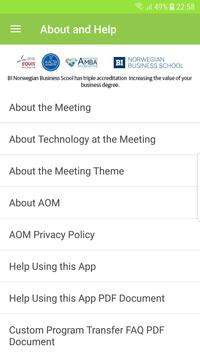 Academy of Management Meetings apk screenshot